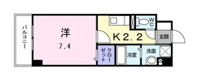 京急新子安駅 徒歩10分4階Fの間取り画像