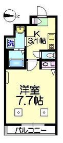 Tre Sinwa トレシンワ1階Fの間取り画像