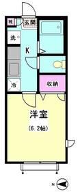 パピヨン南大井 201号室