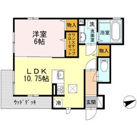 カーサ尾山町 101号室