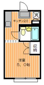 メゾン3291階Fの間取り画像