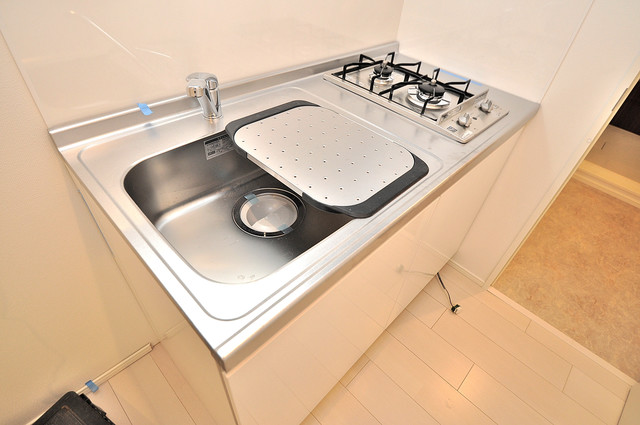 RESTAURO システムキッチンなので広々使えて、お料理もはかどります。