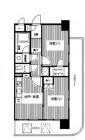 西横浜駅 徒歩1分3階Fの間取り画像