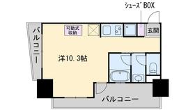西新ROOMS7階Fの間取り画像