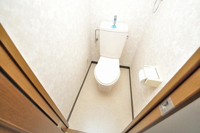 サイレストSB キレイに清掃されたトイレは清潔感がり気分もよくなります。