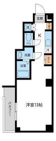 RJRプレシア新横浜2階Fの間取り画像