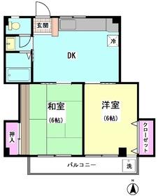 ウィステリアコトブキ 203号室