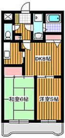 サンライフ並木1階Fの間取り画像