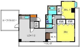 AKハイム入江パーク5階Fの間取り画像