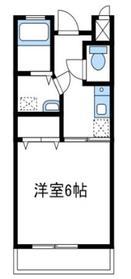 びゅう中の原2階Fの間取り画像