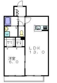 アーバンハウス2階Fの間取り画像