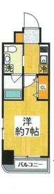 グリフィン横浜・ウエストフォルム10階Fの間取り画像