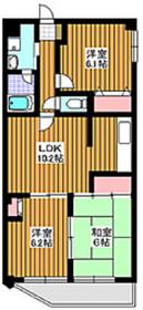 朝霞駅 徒歩25分4階Fの間取り画像