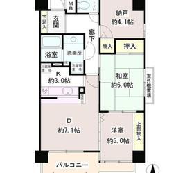 パーク・ノヴァ亀戸4階Fの間取り画像