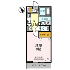 (仮)東大宮4丁目新築D-room3階Fの間取り画像