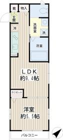 パラゴ横濱3階Fの間取り画像