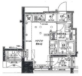 クラッシィハウス神田美土代町4階Fの間取り画像