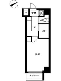 スカイコート早稲田壱番館11階Fの間取り画像