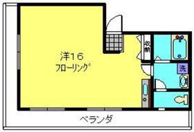 上星川IDビル3階Fの間取り画像