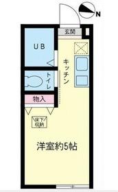 ファインタイム神大寺1階Fの間取り画像