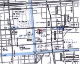 西大島駅 徒歩8分案内図