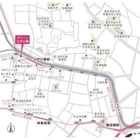 グリーン江戸川橋案内図