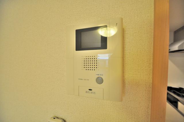 ディオーネ・ジエータ・長堂 モニター付きインターフォンでセキュリティ対策もバッチリ。