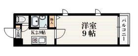 パークセブン新宿2階Fの間取り画像