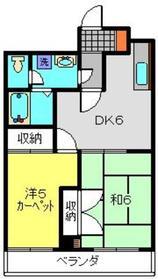 港南中央駅 徒歩15分4階Fの間取り画像