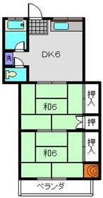 高田駅 徒歩23分2階Fの間取り画像