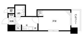 日神パレステージ三田6階Fの間取り画像