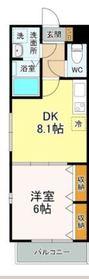 メゾン・ド・アリス3階Fの間取り画像