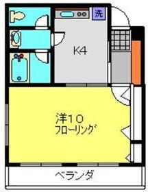 日吉本町駅 徒歩25分3階Fの間取り画像