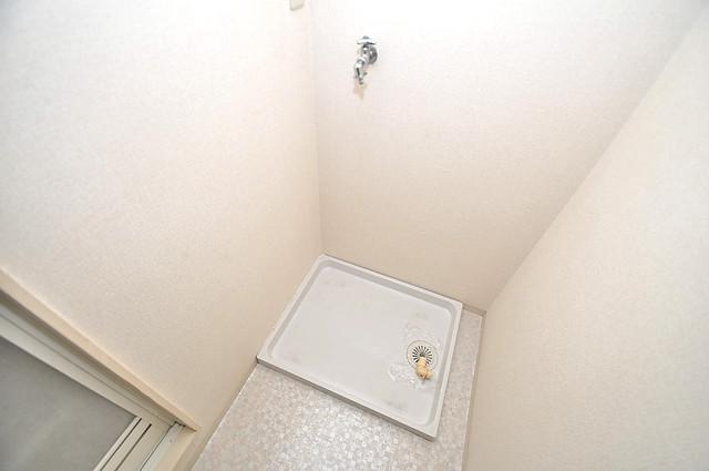 アメニティ深江橋 室内に洗濯機置き場があれば雨の日でも安心ですね。