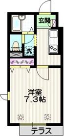 アネシス目白台1階Fの間取り画像