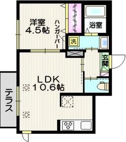 (仮称)千川2丁目古谷メゾン1階Fの間取り画像