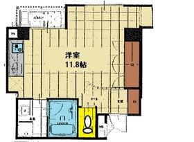 天満橋駅 徒歩8分10階Fの間取り画像