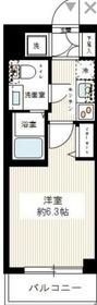 スパシエヒルズ横浜妙蓮寺4階Fの間取り画像