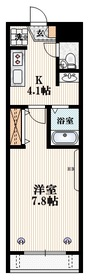 小川駅 徒歩11分1階Fの間取り画像