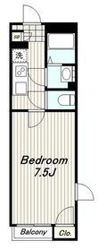 レオネクストグリーンヒルズ182階Fの間取り画像