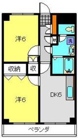 プロシード栄町通り1階Fの間取り画像