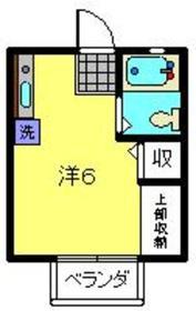 トラスト鶴ヶ峰2階Fの間取り画像