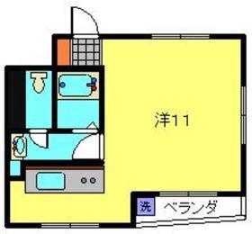 クリフサイド神尾4階Fの間取り画像
