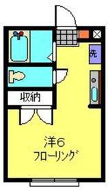 SHALL HOUSE妙蓮寺2階Fの間取り画像