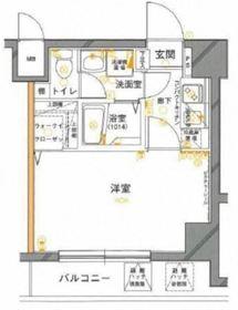 グリフィン横浜戸部駅前10階Fの間取り画像