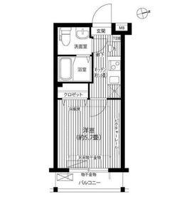 パールマンション鷺宮4階Fの間取り画像