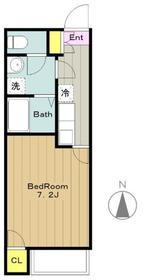 ベラヴィスタ3階Fの間取り画像