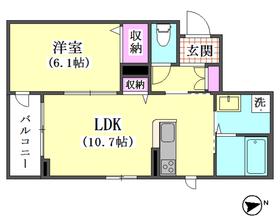 仲六郷2丁目シャーメゾン 206号室