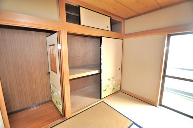 第2シャトー新町 もちろん収納スペースも確保。いたれりつくせりのお部屋です。