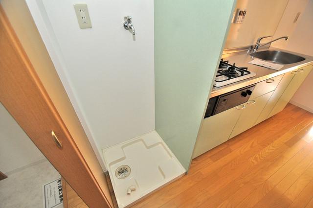 フレンテ田中 室内に洗濯機置き場があれば雨の日でも安心ですね。